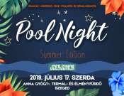 Pool Night Summer az Anna Fürdőben