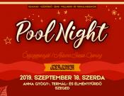 Őszi szezonnyitó Pool Night az Anna Fürdőben