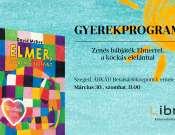 Zenés bábjáték Elmerrel, a kockás elefánttal a Libri Szeged Árkád Könyvesboltban
