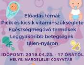 Gyermekgyógyász előadás Maroslelén