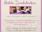 Farsangolós Zenebölcsi a Petőfi-telepi Művelődési Házban