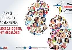 A gyerekek állnak a vese világnapjának fókuszában