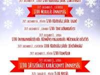 Decemberi programok az Ágota Játszóházban
