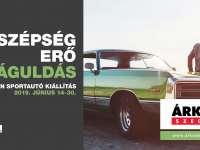 Veterán sportautó kiállítás az Árkádban