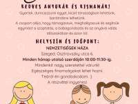 Szoptatás támogató baba-mama klub Szegeden