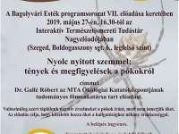 Bagolyvári Esték az Interaktív Természetismereti Tudástárban