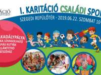 I. Karitációs Családi Sportnap a Szegedi Repülőtéren