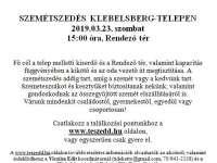TeSzedd Klebelsberg-telepen