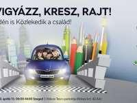 Vigyázz, kész, rajt! – Közlekedési vetélkedő családoknak Szegeden!