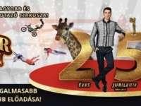 Minden idők legizgalmasabb és leglátványosabb show-műsorával érkezik a Magyar Nemzeti Cirkusz