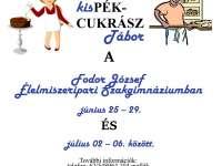 kisPÉK-CUKRÁSZ tábor