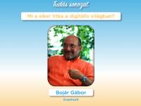 Bojár Gábor: Mi a siker titka a digitális világban? - Szikra Tudássorozat az IH Rendezvényközpontban