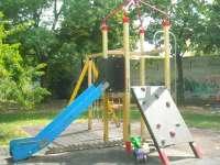 Zápor kerti játszótér